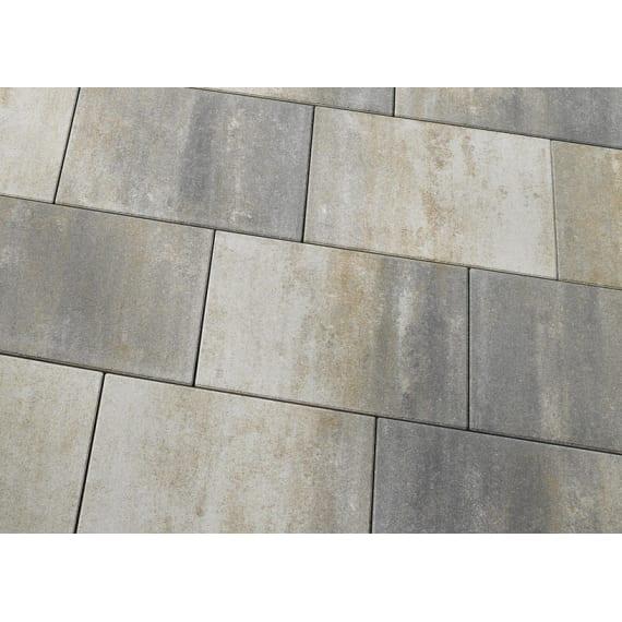 Casafino Terrassenplatte Linear Muschelkalk Nuanciert 60 X 40 X 5 Cm