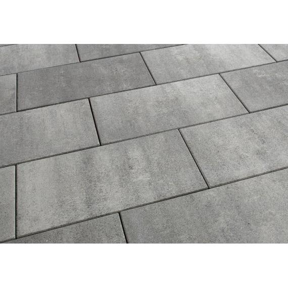Casafino Terrassenplatte Linear Graugranit Nuanciert 60 X 40 X 5 Cm