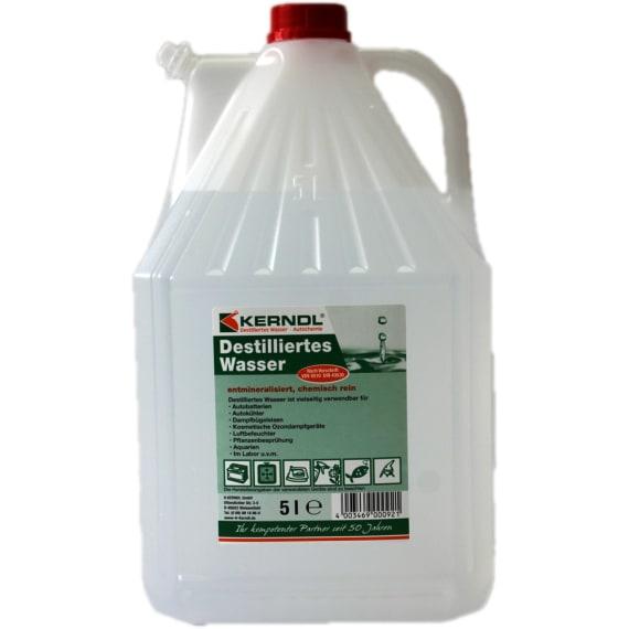 Kerndl Destilliertes Wasser 5 L Frostschutz Schmier Und