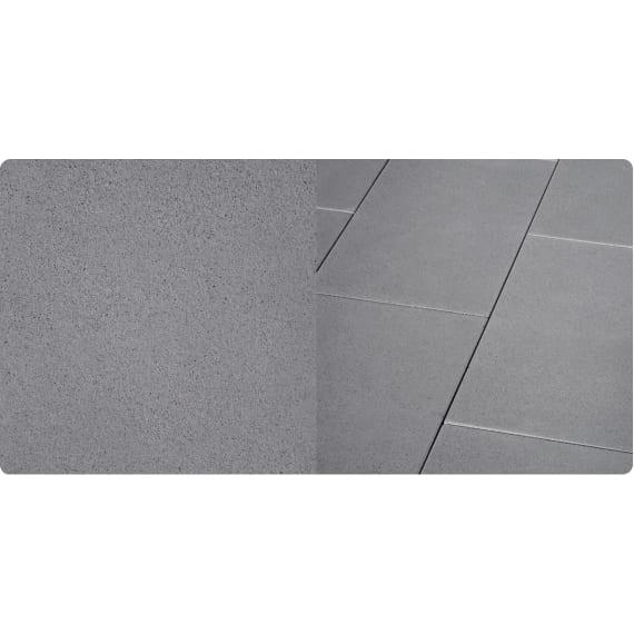 Feiner Terrassenplatte Effektiv Anthrazit X X Cm Beton - Betonplatten 100 x 40