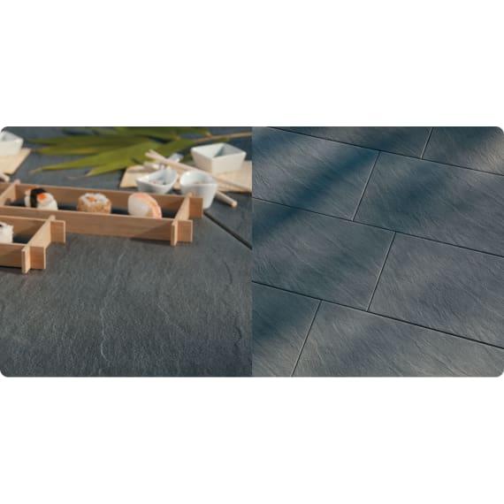 Feiner Terrassenplatte Struktura Pizarra 40 X 60 X 4 2 Cm Beton