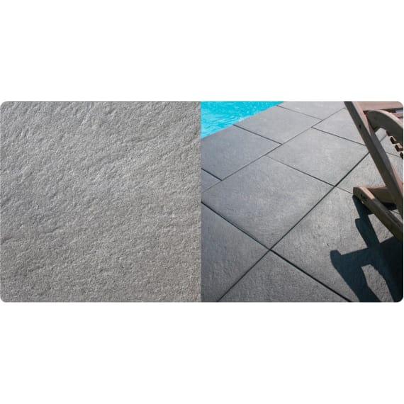 Feiner Terrassenplatte Maui Grey 40 X 20 X 4 2 Cm Beton Terrasse