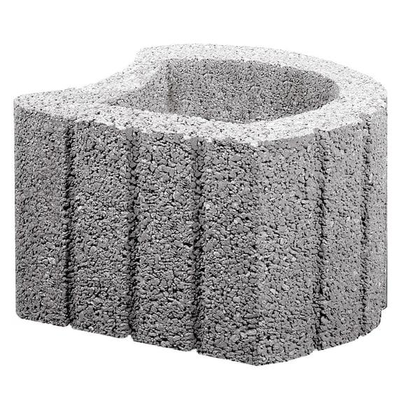Pflanzringe Beton casafino multipflanzstein 38 x 38 x 25 cm grau stk pflanzringe