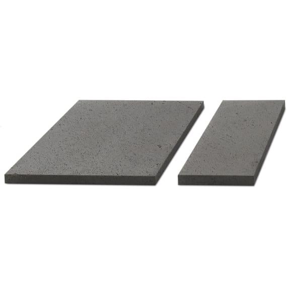 Kann Terrassenplatte Basalo 60 30 4 Cm Basaltgrau Beton Terrasse