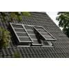 Velux Integra Solar-Hitzeschutz-Markise Verdunkelung SSS CK02 0000S Aluminium Dunkelgrau 55x78 cm