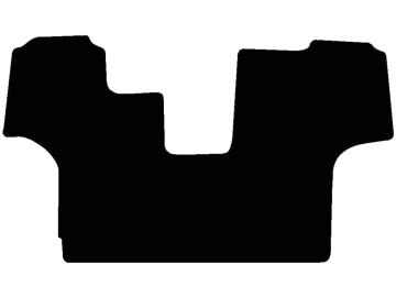 Fußmatte Velour schwarz Fendt Vario 500+700 SCR COM 3B S4 mit Motorbremse a