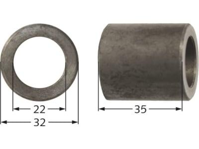 Agrimaster Distanzhülse 25 x 16 x 49 mm, 3000552