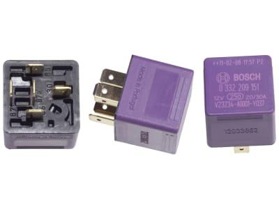 Bosch Relais, ohne Halter, Wechsler, 5-polig, 12 V, 20/30 A, 0 332 209 151