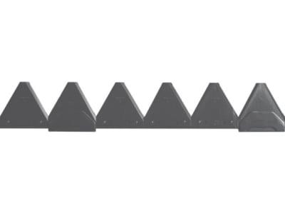 ESM Mähmesser 150 cm, gezahnt, für Busatis