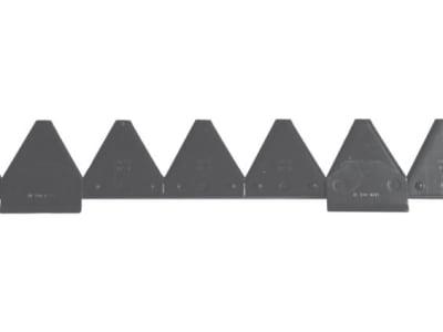 ESM Mähmesser 150 cm, gezahnt, mechanischer Antrieb, Klingen 20 St. DIN 75 GEZ bzw. 5802 100 01, für Busatis