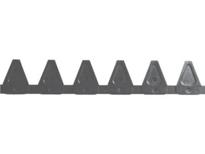 ESM Mähmesser 150 cm, Untermesser, Klingen 21 St. 5802 009 01 bzw. 344 1511, für Busatis