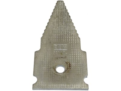 ESM Messerklinge 106 x 50,8 x 4 mm, neue Ausführung (Rundloch), für Agria, ESM