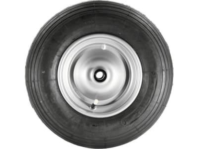 Mefro Luftrad 400x100, 4.80/4.00-8, Rille, Stahlfelge, Rollenlager