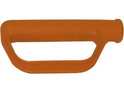Mefro Kunststoffgriff orange mit Handschutz für Sack- und Stapelkarren, Transportkarre