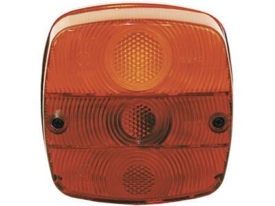 GEKA Schlussleuchte links/rechts, Schlus-, Brems-, Blink- und Kennzeichenlicht, 120 x 120 x 56 mm E1 0253267