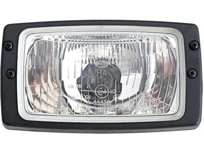 Hella® Hauptscheinwerfer links/rechts, 12 V H4, Abblendlicht; Fernlicht, 1AB 006 213-001