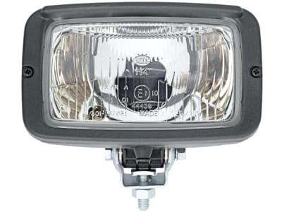 Hella® Hauptscheinwerfer links/rechts, 12 V H4; T4W, Abblendlicht; Fernlicht; Positionslicht, 1AB 007 145-001
