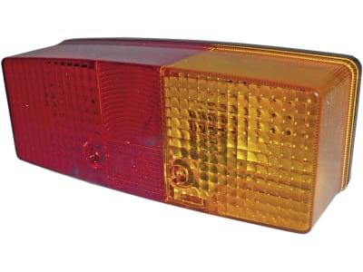 Hella® Schlussleuchte eckig, rechts, 158 x 64 x 51 mm, waagerecht, Schluss-, Brems- und Blinklicht, 2SD 003 184-041