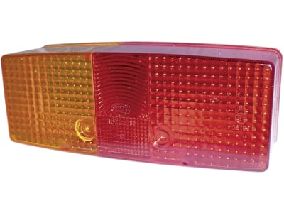 Hella® Lichtscheibe eckig, links/rechts, 158 x 64 mm, für Schlussleuchte (Best. Nr. 10066290, 10066291)