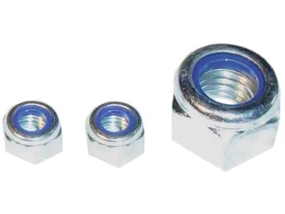 Hevi Sicherungsmuttern-Sortiment DIN 985, verzinkt, in Klarsichtpackung