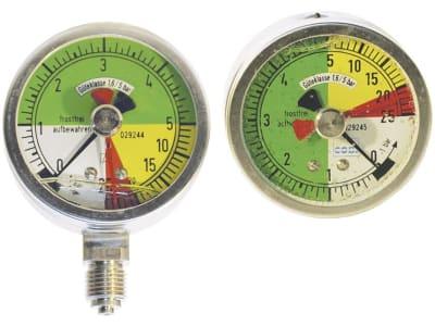 Holder Manometer , Ø 100 mm Betriebsdruck 0 bis 25 bar