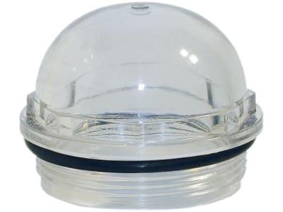 Hücobi Schauglas, Plexiglas, mit Dichtring
