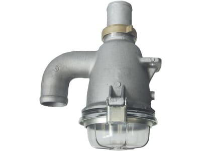 Hücobi Syphonabscheider, Ø 60 mm, 1/4'' IG, Aluminium, für Vakuummanometer