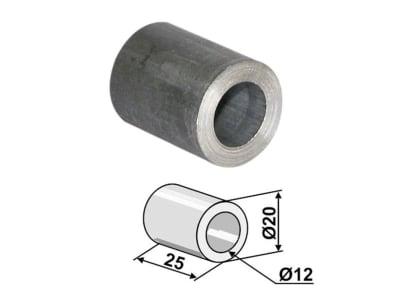 Industriehof® Buchse 25 x 4 mm, Ø innen 12 mm, Ø außen 20 mm, für Mc Connel, Noremat, Rousseau, S.M.A., 63-ROU-62