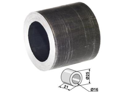 Industriehof® Buchse 21 x 4 mm, Ø innen 16 mm, Ø außen 24 mm, für Falc, Gilbers, Herder, Müthing, Noremat, Quivogne,Turner, Votex, 63-TUR-81