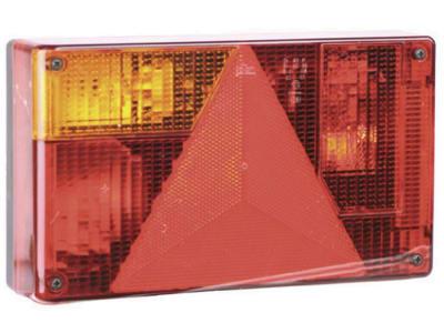 Jokon Schlussleuchte Schluss-, Brems-, Blink- und Rückfahrlicht, 238 x 138 x 52 mm