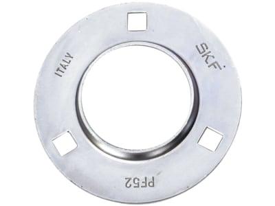 SKF Stahlblechgehäuse rund, 3-Loch, für Y-Lager
