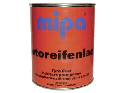 Mipa Reifenfarbe schwarz, 1.000 ml