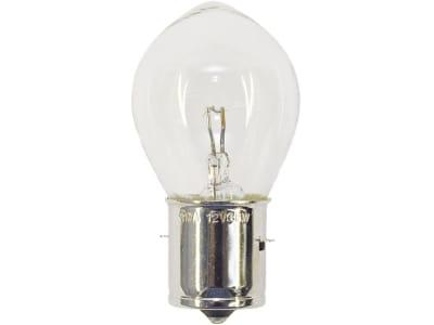 Kugellampe, 12 V; 24 V, BA15s
