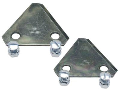 Rasenmähermesser doppelseitig verwendbar, 2 St. SB-verpackt, für Brill