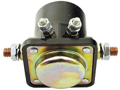 Magnetschalter 12 V, 2 x Schraubanschluss 5/8''-20 UNF, 2 x Schraubanschluss, + und - getrennt