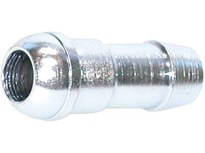Schlauchnippel, ähnlich DIN 3868, Kugelbuchse für 24° und 60° Aussenkung