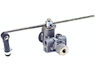 Wabco Luftfederventil, Betriebsdruck max. 22 bar, pneumatisch, Anlenkung 2-seitig, Austauschteil, 464 002 330 7