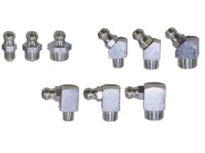 Schmiernippel-Sortiment DIN 71412 M 6–M 10, 33 St., im Karton, 988 10X980