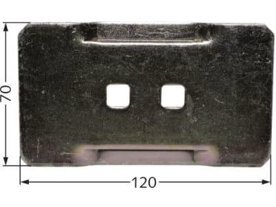 Rau Abstreifer 120 x 70 mm für Zahnpackerwalze, RG00029743