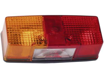 Fendt Schlussleuchte links eckig Schlus-, Brems-, Blink- und Kennzeichenlicht 026040, E1 130, E1 22831, E1 53253, X830180048000