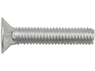 Innensechskantschraube DIN 7991, 8.8, Stahl, blank, mit Senkkopf