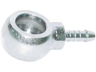 Ringnippel gerade, reduziert, ähnlich DIN 7642, Stahl, verzinkt, für Polyamidrohr