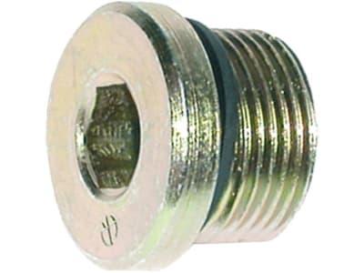 """Verschlussschraube """"VSTI-R"""" zöllig, BSPP, zylindrisch, Innensechskant, Weichdichtung"""