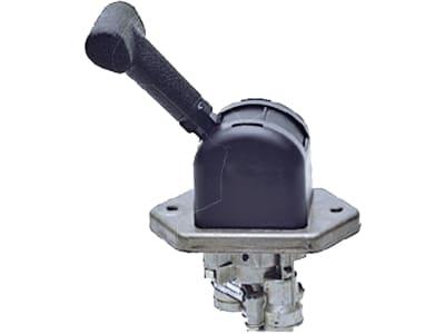 Wabco Handbremsventil, Mini, pneumatisch, Raste 85°, 2x M16 x 1,5 Parker, 3x M16 x 1,5 Voss, Neuteil