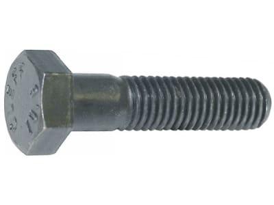 Industriehof® Sechskantschraube M 16 x 1,5 x 50 - 12.9 mit Schaft, ohne Sicherungsmutter für universal, 51-1650
