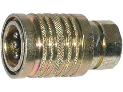 Kupplungsmuffe Innengewinde, zylindrisch, BG 03, M 18 x 1,5