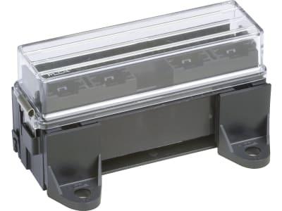 """Herth + Buss Sicherungsdose 130 x 64 x 29 mm, 16-polig, Aufbau für Flachstecksicherungen """"Standard"""", 50 300 825"""