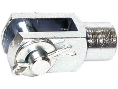 "Gabelgelenk ""GG"", DIN 71751, Stahl, verzinkt"