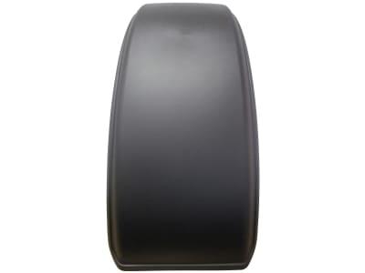 1-Achs-Kotflügel PE (Polyethylen); PP-EPDM (Polypropylen), schwarz