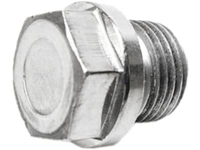 Verschlussschraube DIN 910, metrisch, zylindrisch, Sechskant, Einschraubzapfen Form A (DIN 3852)